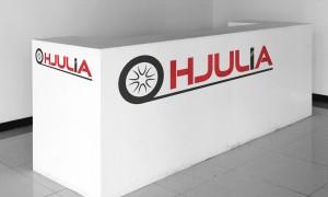 Hjulia logotyp