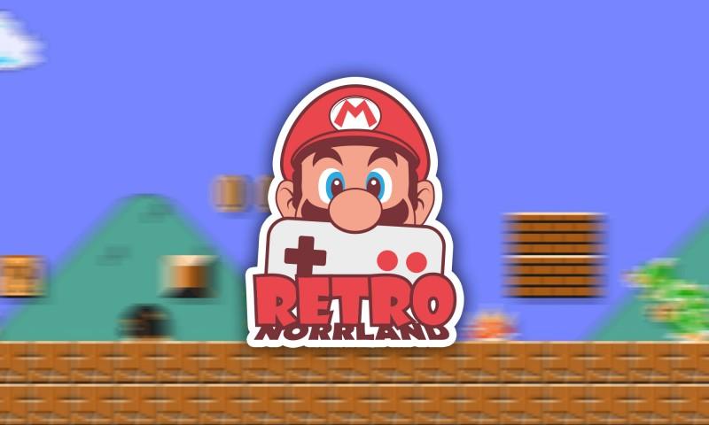 Mario nintendo Retro norrland logotyp