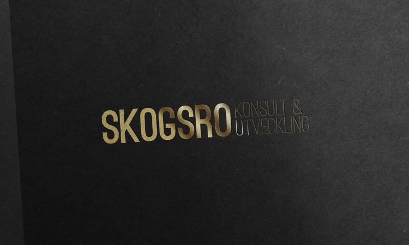 Skogsro konsult och utveckling logotyp