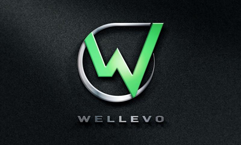 Wellevo logotype by Kogit Design